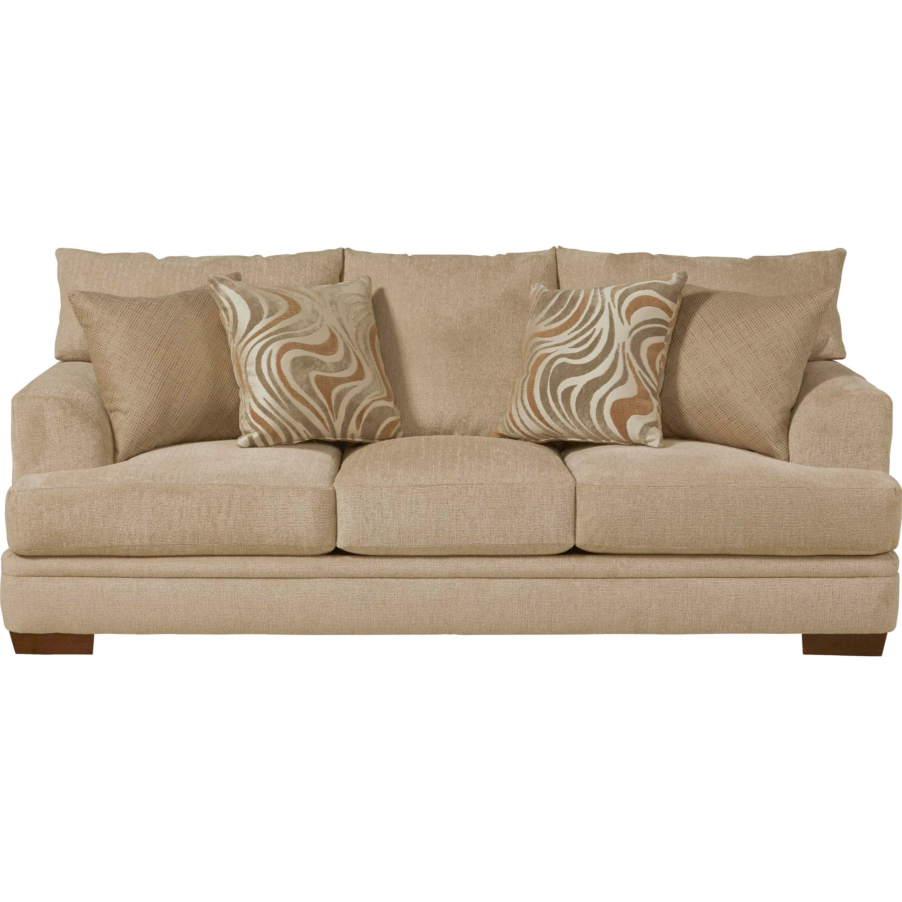 Jackson Furniture Calkin Sofa with Casual Style - Item Number: 4462-03-2000-66