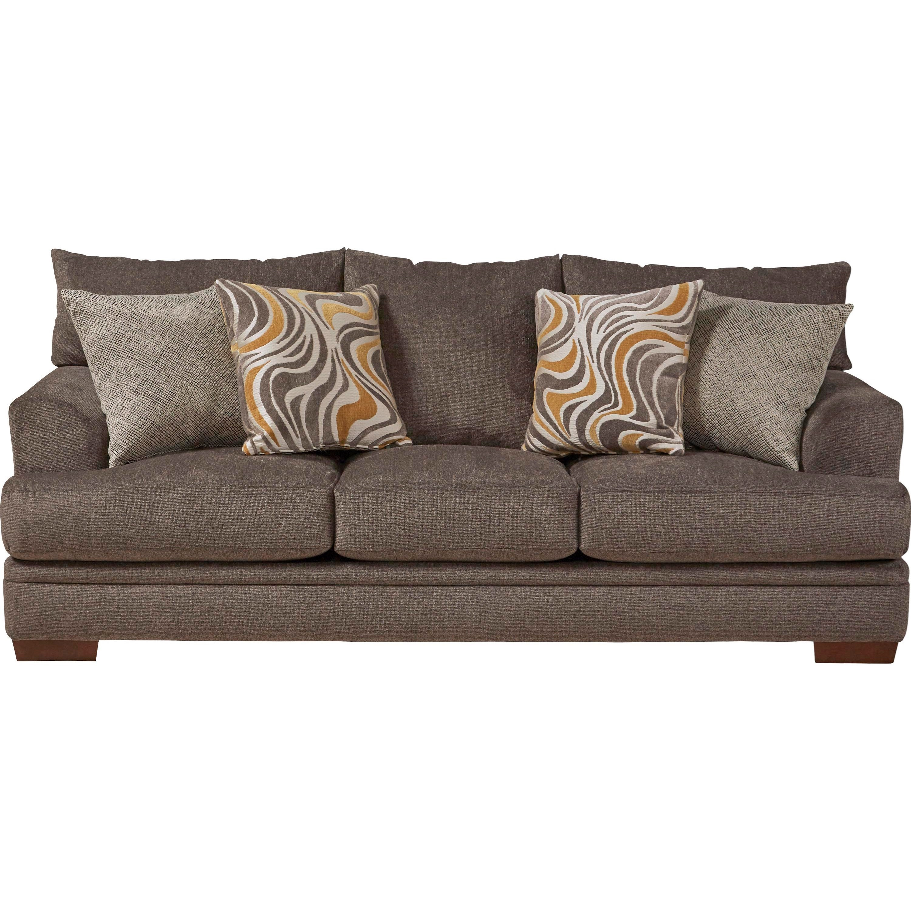 Jackson Furniture Crompton Sofa with Casual Style - Item Number: 4462-03-2000-88