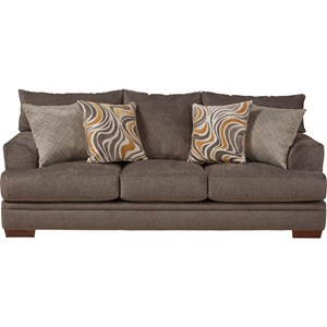 Jackson Furniture Calkin Sofa with Casual Style