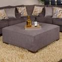 Jackson Furniture Crompton Cocktail Ottoman - Item Number: 4462-28-2000-88