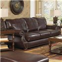 Jackson Furniture Dawson Sofa - Item Number: 4408-03-1274-04-3074-04