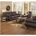 Jackson Furniture Dawson Sofa with Traditional Style