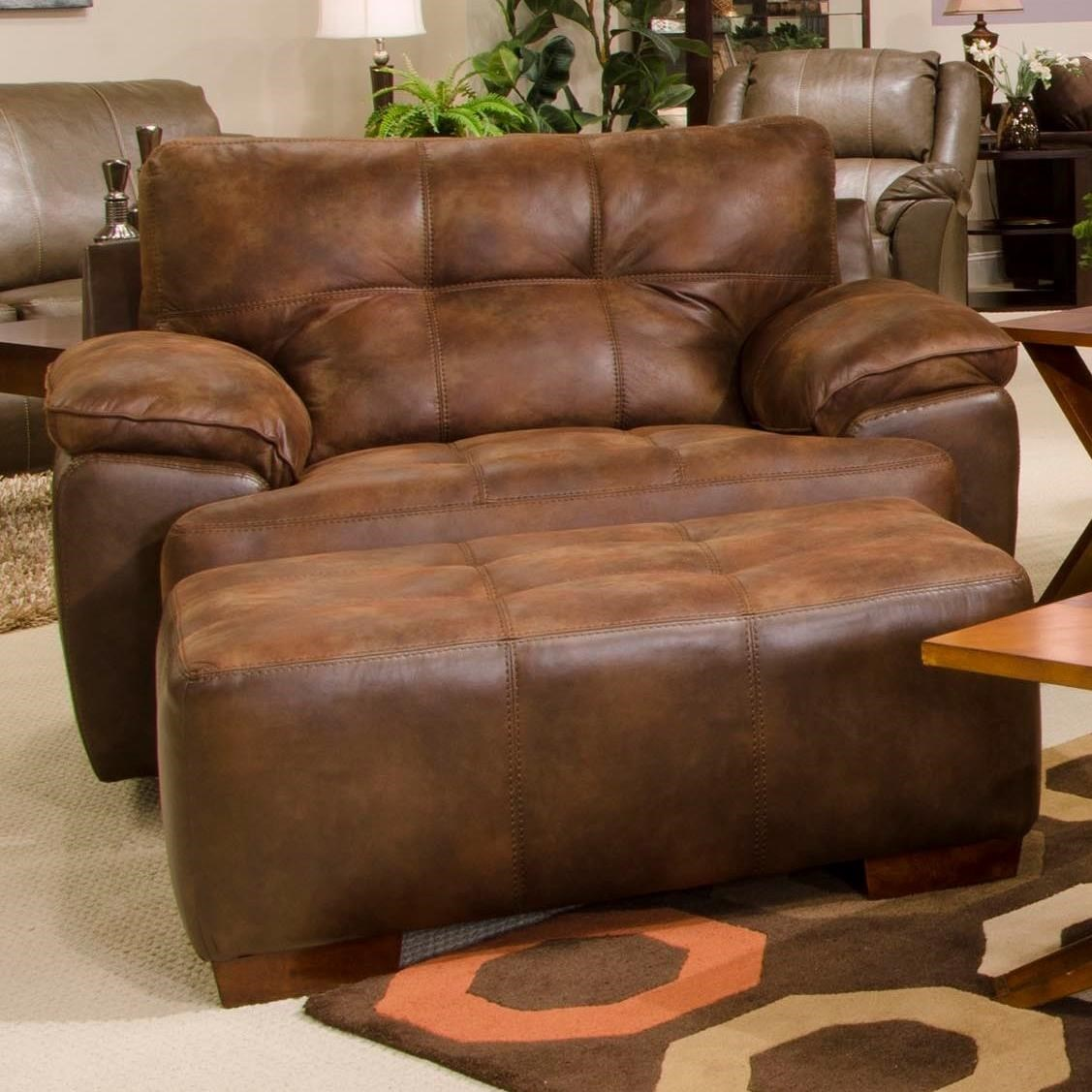Jackson Furniture Drummond Chair And A Half Amp Ottoman