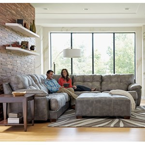 Jackson Furniture Neil Sectional Sofa with 4 Seats