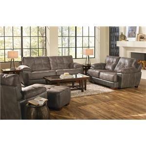 Jackson Furniture Drummond Dusk Ottoman