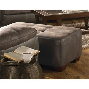 Jackson Furniture Drummond Dusk Ottoman