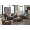 Jackson Furniture Essex Stationary Living Room Group - Item Number: 3162 Living Room Group 1 2194-28