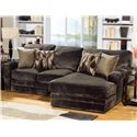 Jackson Furniture 4377 Everest 2 Piece Sectional Sofa with RSF Chaise - 4377-46-2334-09+76