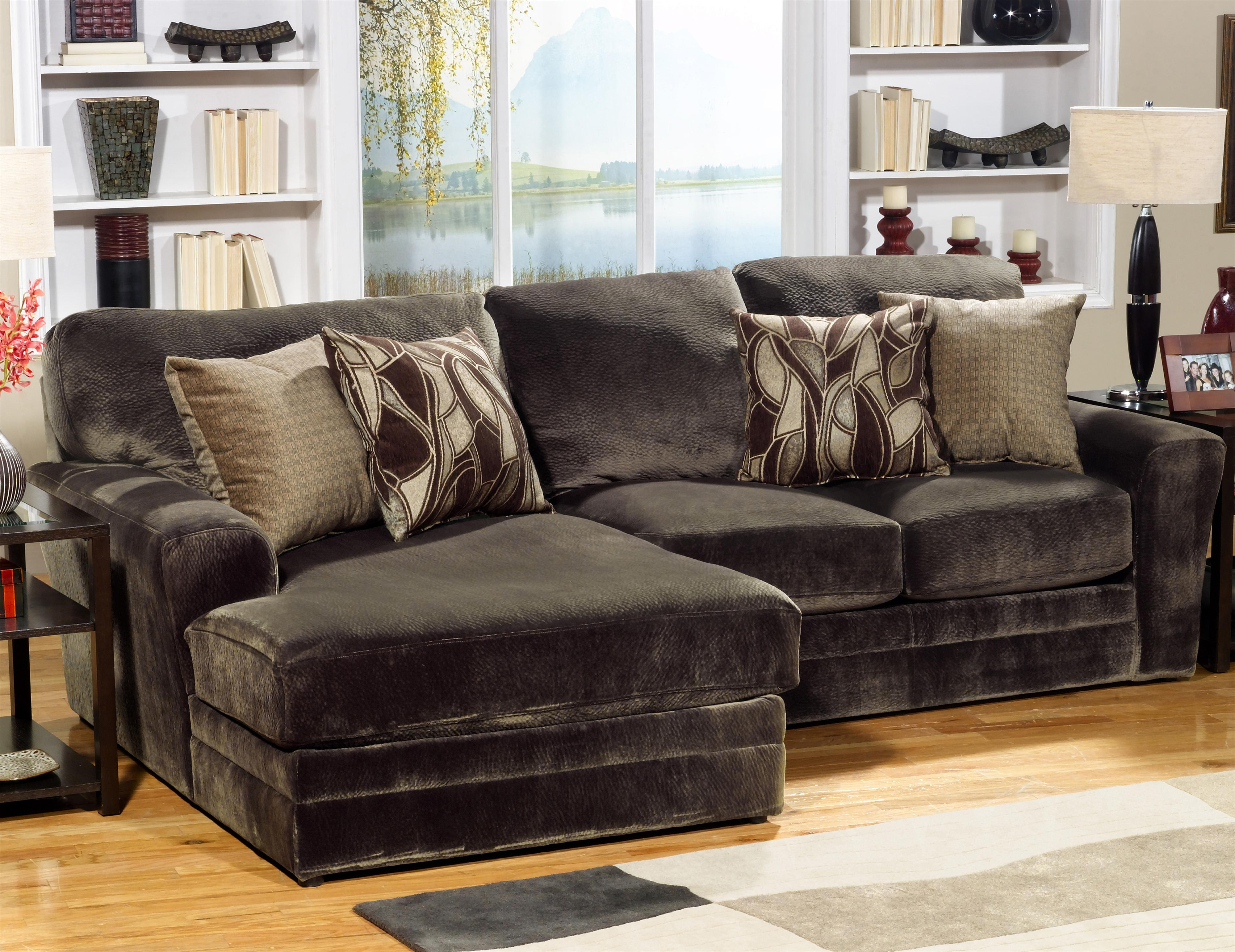 Jackson Furniture 4377 Everest Sectional Sofa - Item Number: 4377-75-2334-09+42
