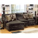 Jackson Furniture 4377 Everest 2 Piece Sectional Sofa with LSF Chaise - 4377-75-2334-09+42