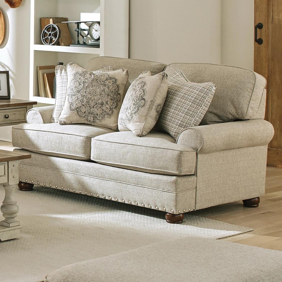 Farmington Loveseat by Jackson Furniture at Northeast Factory Direct