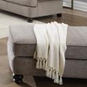 Jackson Furniture Freemont Ottoman - Item Number: 4447-10-Pewter