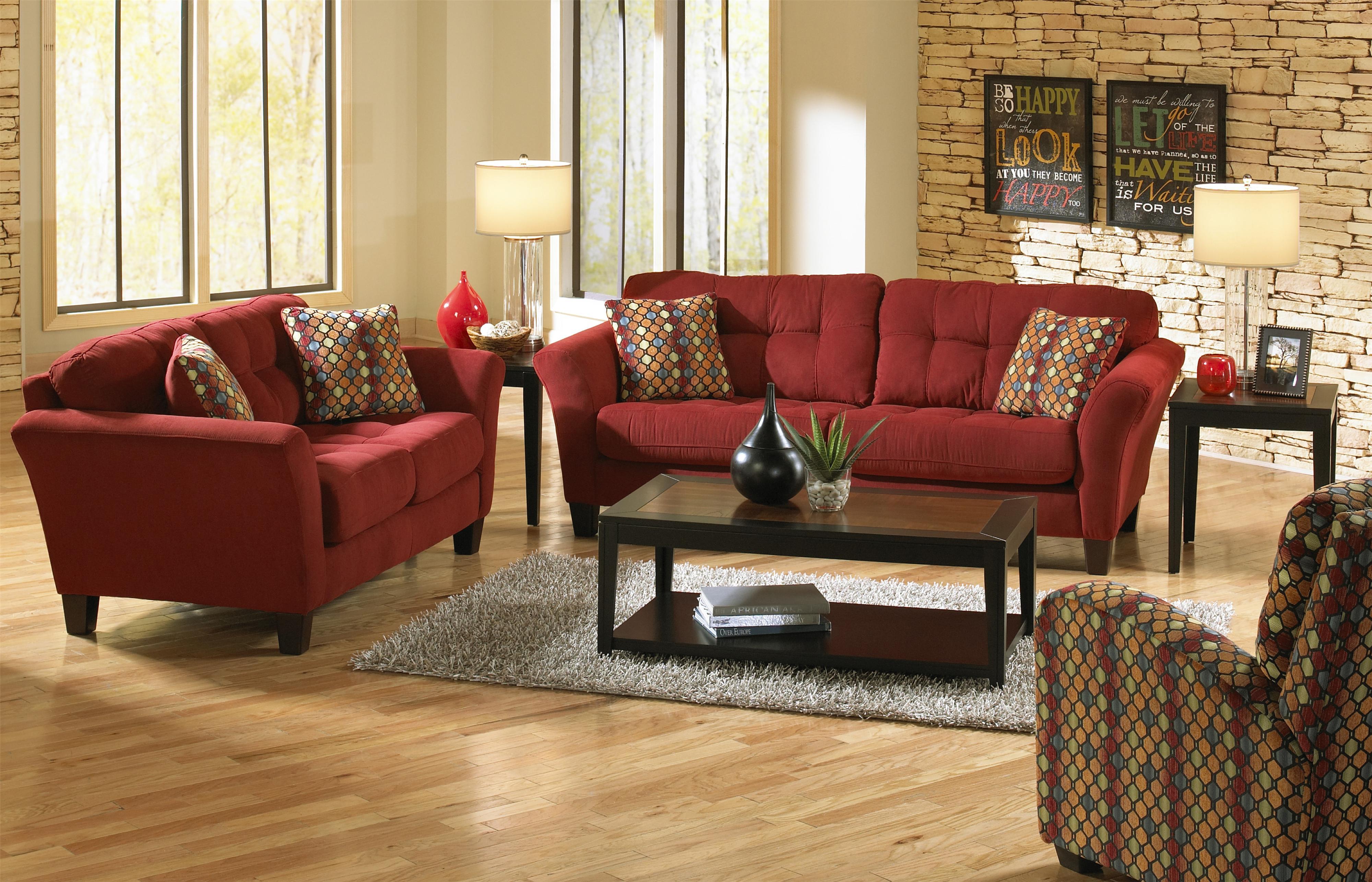 Jackson Furniture Halle Stationary Living Room Group - Item Number: 4381 Living Room Group 2