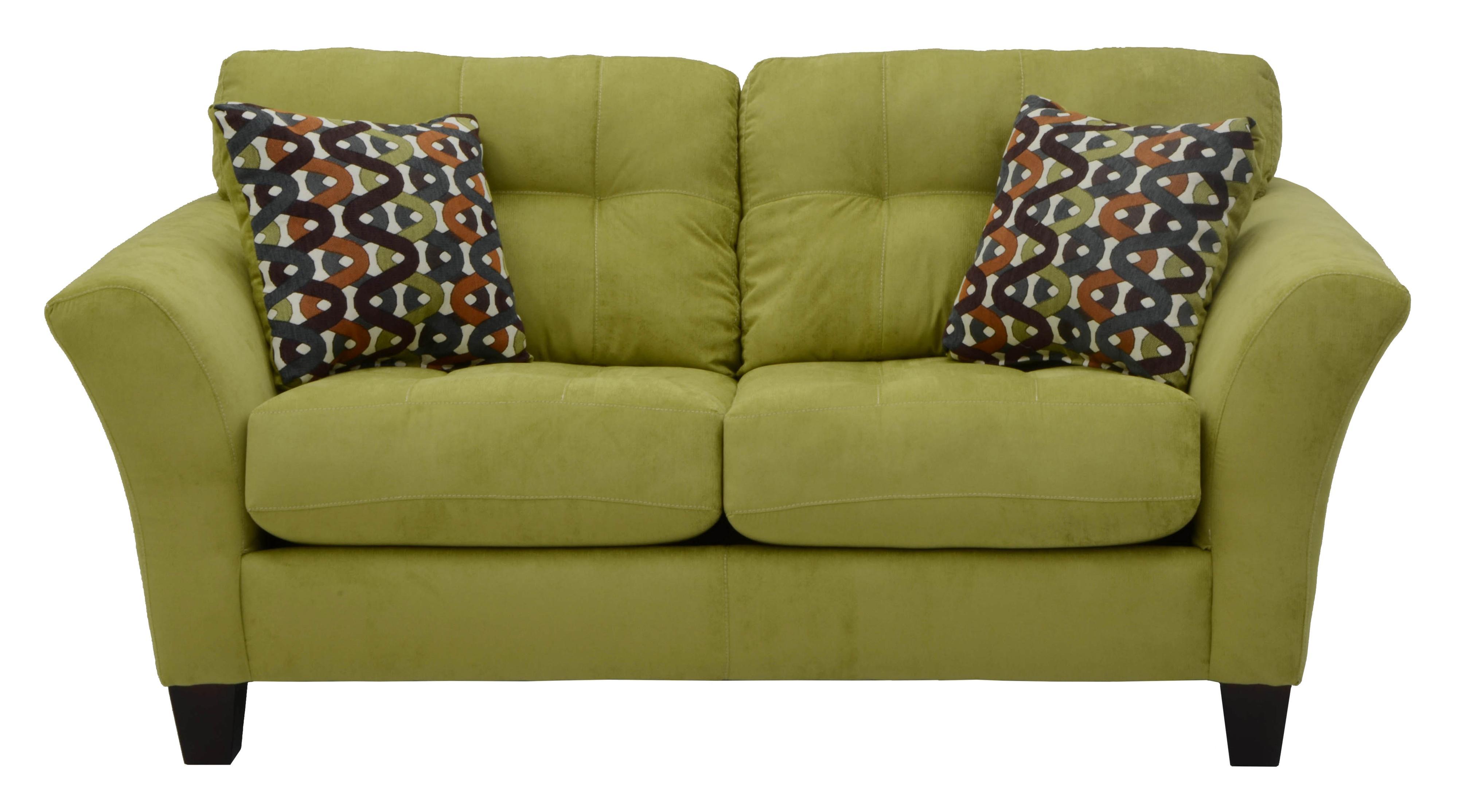 Jackson Furniture Halle Loveseat - Item Number: 4381-02 Basil