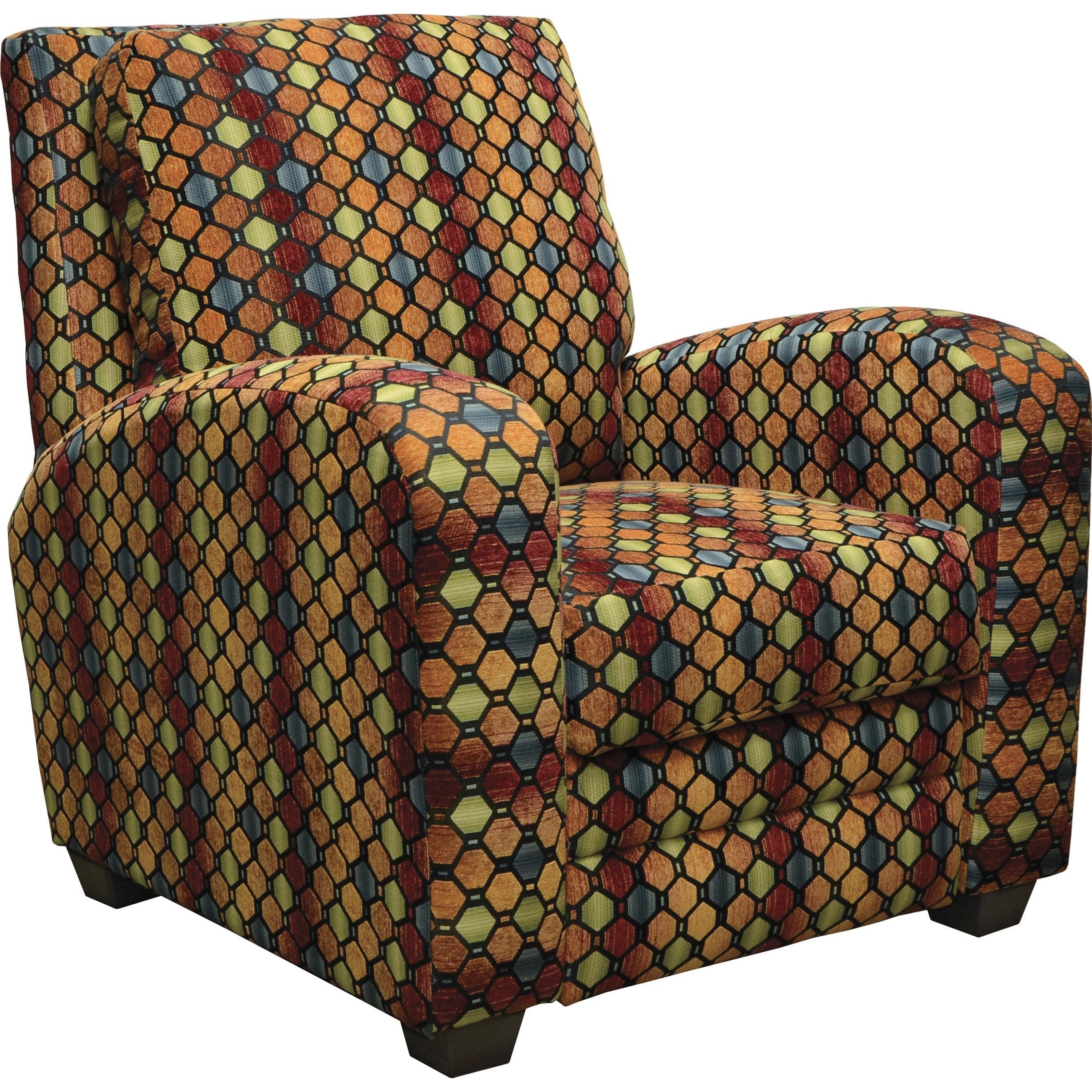 Jackson Furniture Halle Reclining Chair - Item Number: 4381-11-2845-54