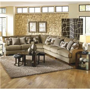 Jackson Furniture Hartwell Sectional Sofa
