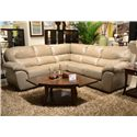 Jackson Furniture Lawson  Sectional Sofa in Corner Configuration