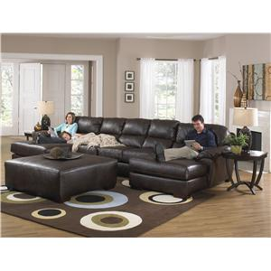 Jackson Furniture Lawson  Two Chaise Sectional Sofa