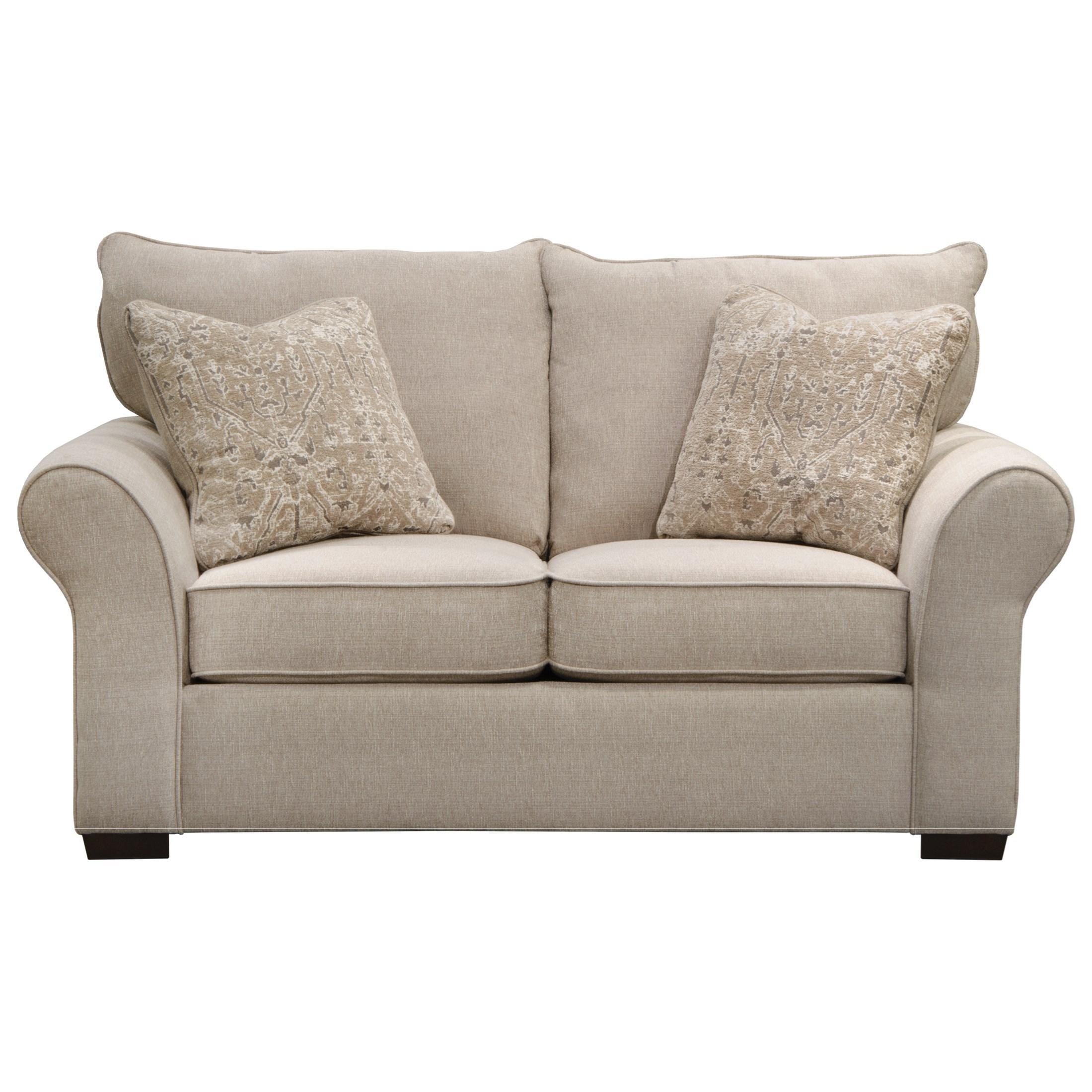Furniture Furniture Stores In Lake Jackson Texas: Jackson Furniture Maddox 4152-02 Transitional Loveseat