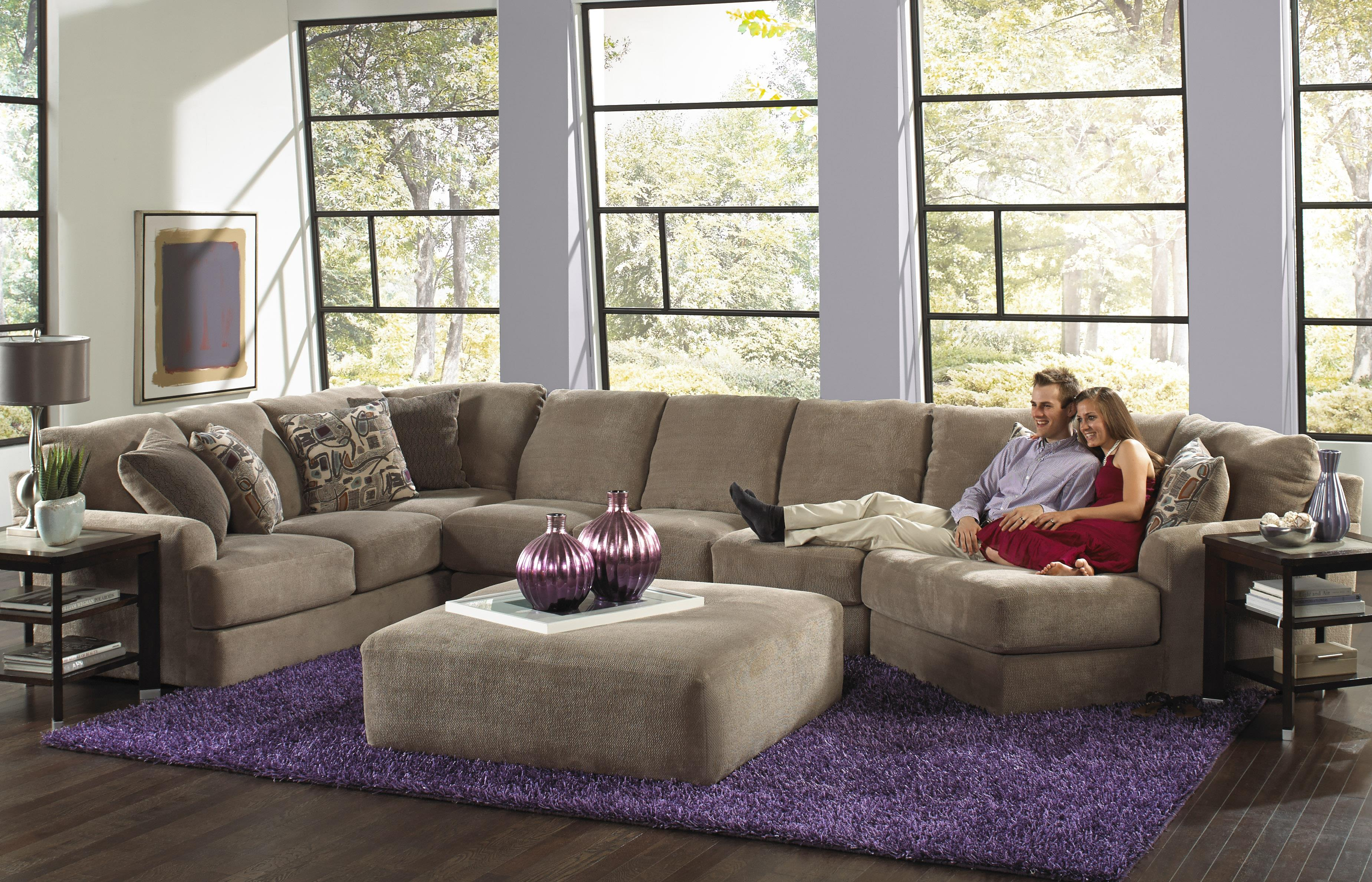 Jackson Furniture Malibu Six Seat Sectional Sofa Wayside