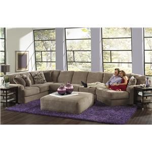 Jackson Furniture Malibu Six Seat Sectional Sofa