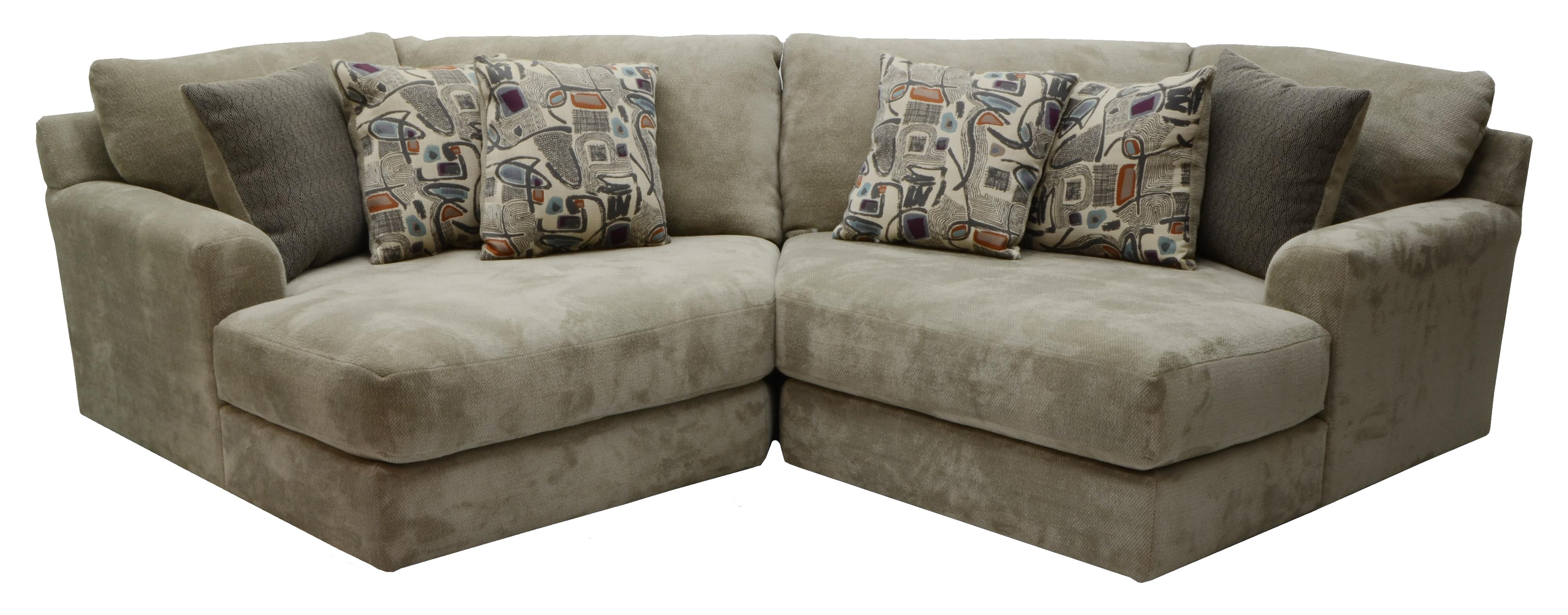 Jackson Furniture Malibu Two Seat Sectional - Item Number: 3239-92+96-1983-36