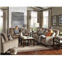 Jackson Furniture Mulholland Sofa with Casual Contemporary Style