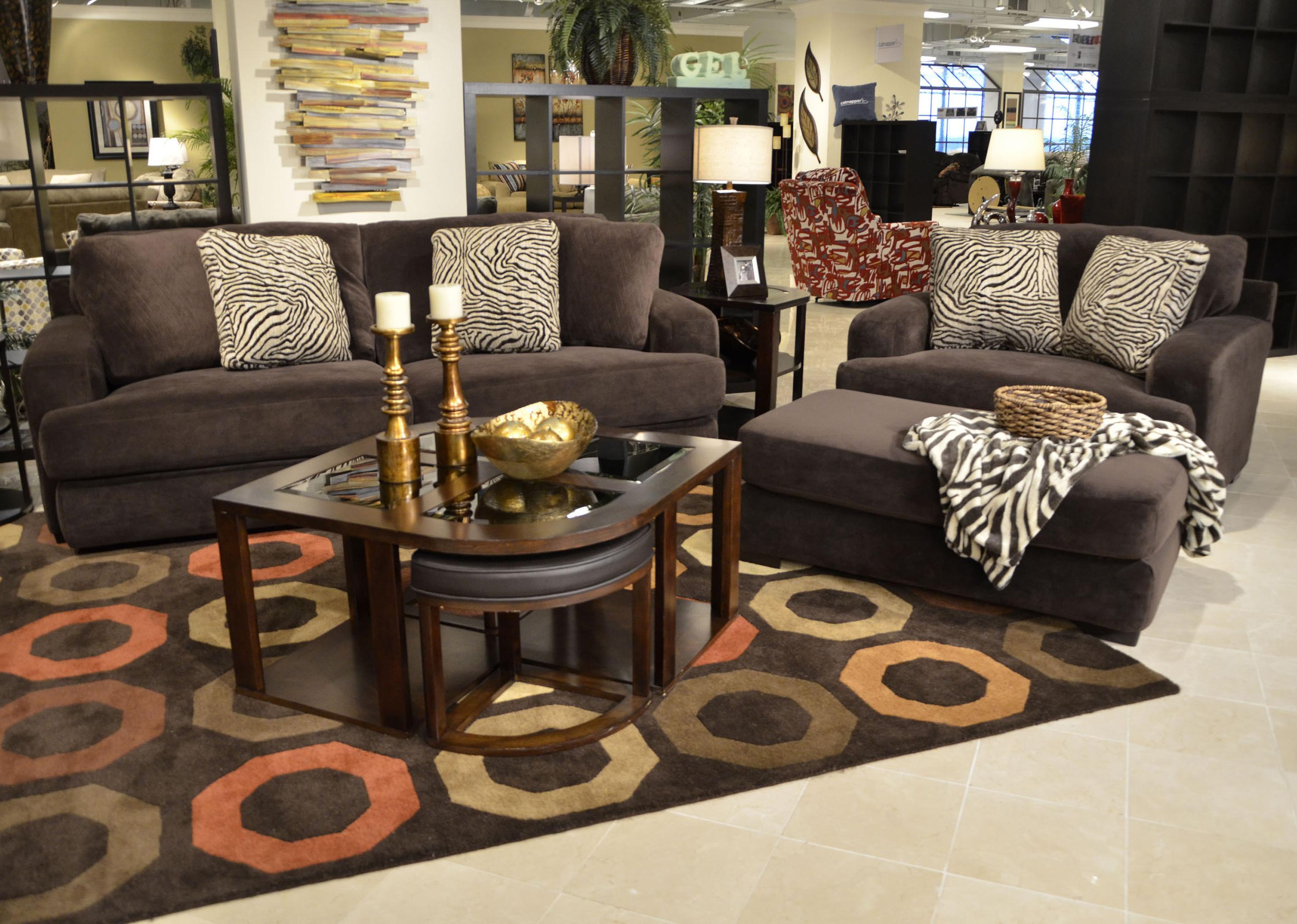 Jackson Furniture Palisades Stationary Living Room Group - Item Number: 4186 Living Room Group 2