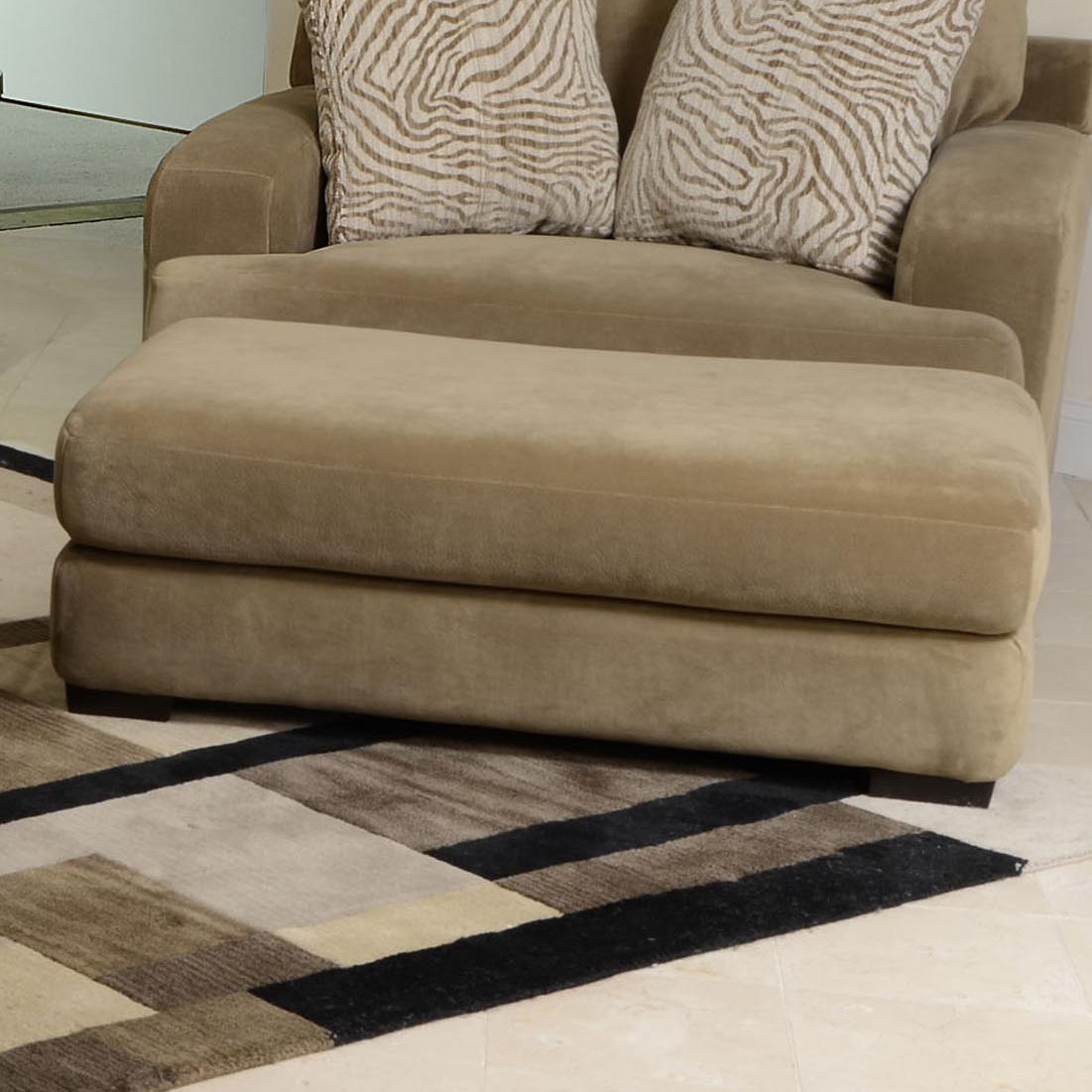 Jackson Furniture Palisades Ottoman - Item Number: 4186-10 Bronze