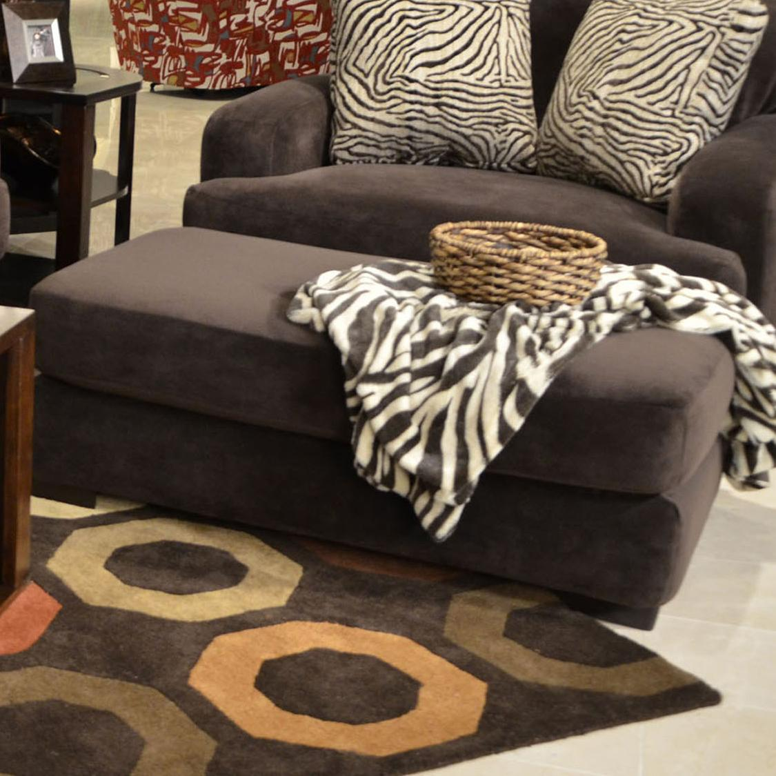 Jackson Furniture Palisades Ottoman   Item Number: 4186 10 Chocolate