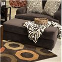 Jackson Furniture Palisades Large Casual Modern Ottoman