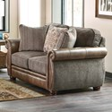 Jackson Furniture Pennington Loveseat - Item Number: 4439-02-1620-18-1267-49