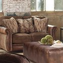 Jackson Furniture Pennington Loveseat - Item Number: 4439-02-1620-39-1267-44