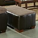Jackson Furniture Pinson Ottoman - Item Number: 439810-Pinson-Chateau
