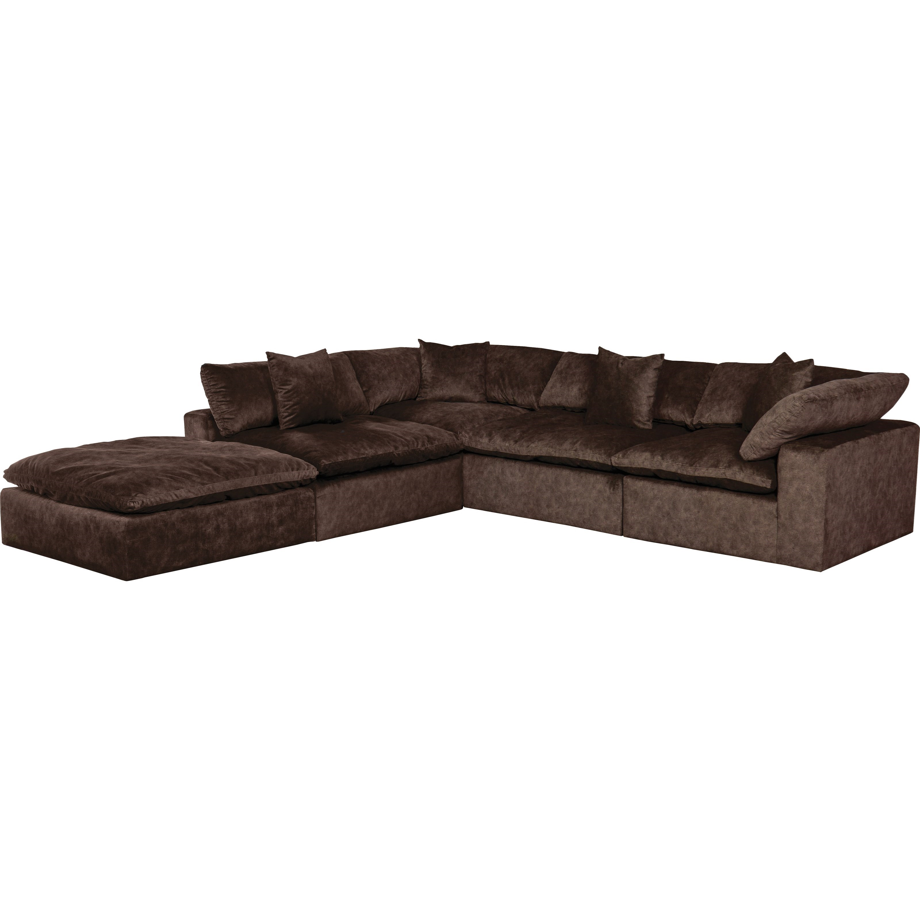 the best attitude 647c3 00b97 Plush L-Shaped Sectional Sofa with Chaise by Jackson Furniture at Lindy's  Furniture Company