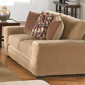 Jackson Furniture Prescott Casual Contemporary Loveseat