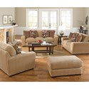 Jackson Furniture Prescott Casual Contemporary Loveseat
