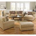 Jackson Furniture Prescott Casual Contemporary Chaise