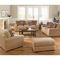 Jackson Furniture Prescott Casual Contemporary Ottoman