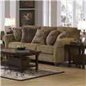 Jackson Furniture Suffolk  Sofa - Item Number: 4426-03 2483-29