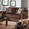 Jackson Furniture Sutton  Loveseat - Item Number: 3289-02-2844-09
