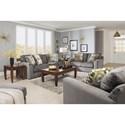 Jackson Furniture Sutton  Sleeper Sofa with Casual Style - 3289-04-Cobblestone