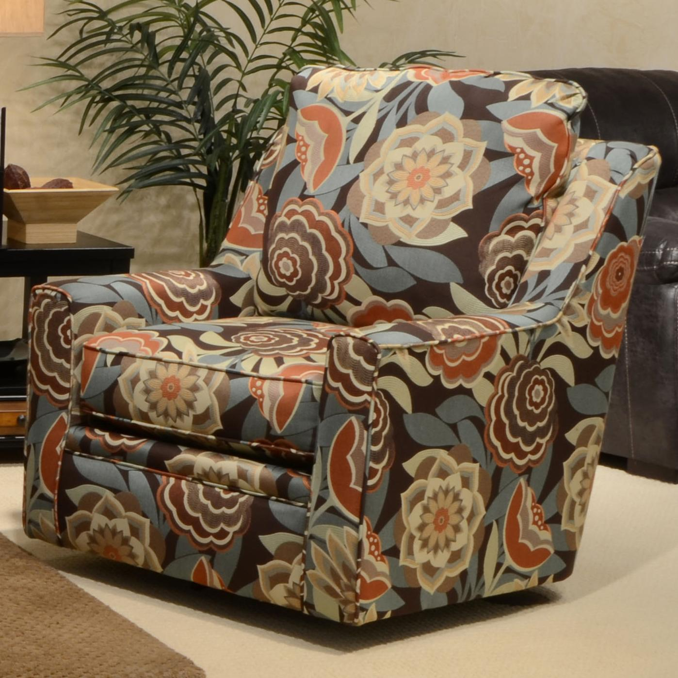 Jackson Furniture Sutton  Swivel Chair - Item Number: 722-21-MultiColor Floral