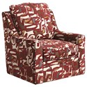 Jackson Furniture Sutton  Swivel Chair - Item Number: 722-21-Red Print