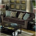 Jackson Furniture Whitney  Contemporary Sofa with Comfortable Appearance
