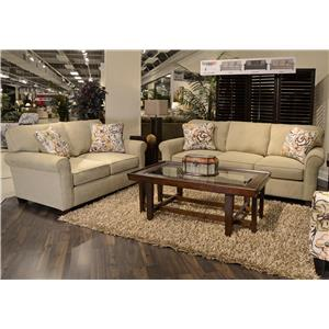 Jackson Furniture Zachary Stationary Living Room Group