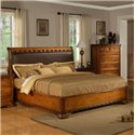 Jacob Edwards Designs 594 Queen Upholstered Bed