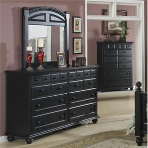 Jacob Edwards Designs G8300 Dresser U0026 Mirror