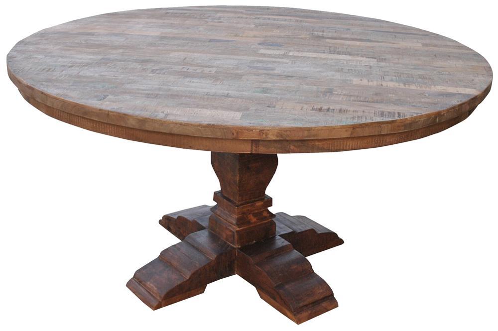 Morris Home Furnishings Morris Home Furnishings Ethiopia Round Dining Table - Item Number: GURU-4129