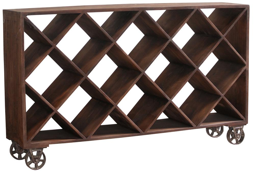 Morris Home Furnishings Morris Home Furnishings Malawi Storage Cart - Item Number: GURU-7032